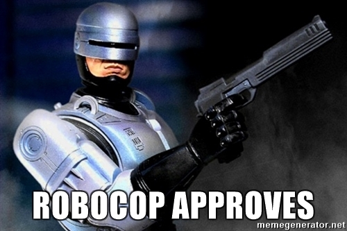 robocop-approves